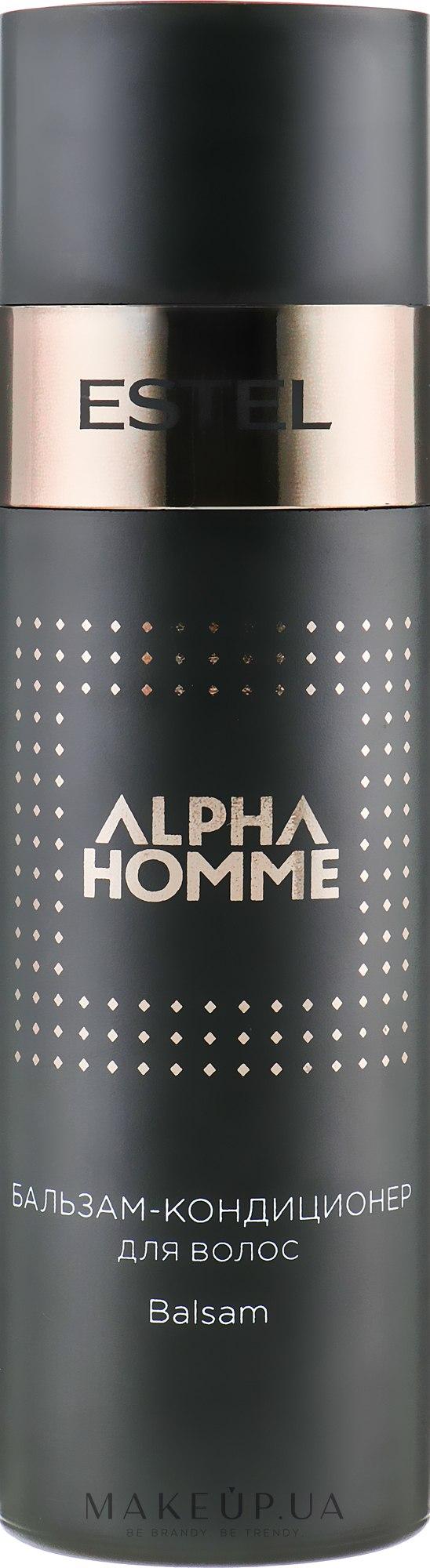 Бальзам-кондиционер для волос - Estel Professional Alpha Homme Pro — фото 200ml