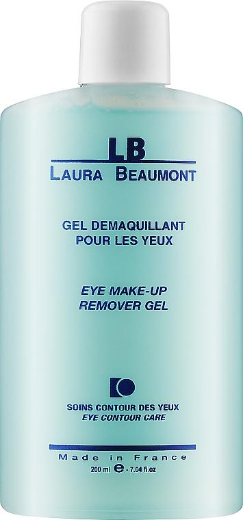 Средство для снятия макияжа в кожи век - Laura Beaumont Eye Make Up Remover Gel Moisturizing And Calming