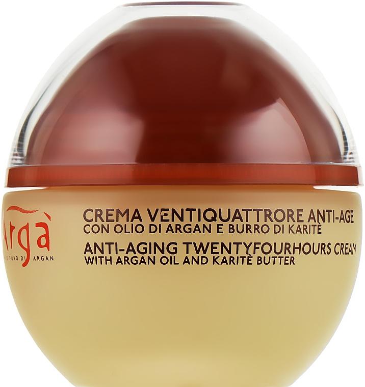 Крем для лица с аргановым маслом - Nature's Arga Crema Antiage