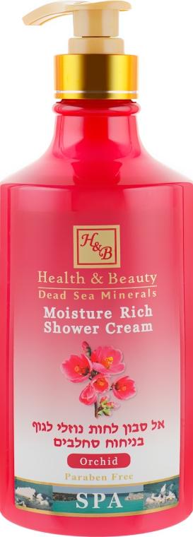 "Крем-гель для душа ""Орхидея"" - Health And Beauty Moisture Rich Shower Cream"