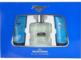 Духи, Парфюмерия, косметика Ford Mustang Blue - Набор (edt/100ml + sh/gel/100ml + a/sh/balm/75ml)