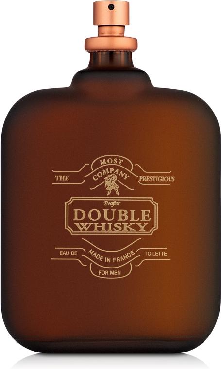 Evaflor Double Whisky - Туалетная вода (тестер без крышечки)
