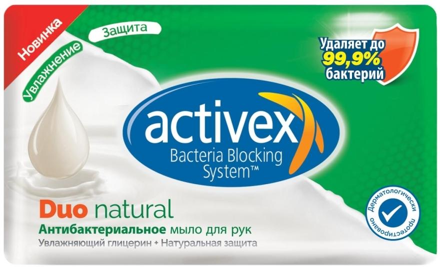 Мыло антибактериальное 2в1 - Activex Duo Natural