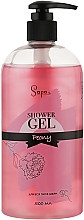 Духи, Парфюмерия, косметика Гель для душа с ароматом цветов пиона - Sapo Peony Shower Gel