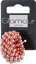 Духи, Парфюмерия, косметика Резинка-браслет для волос, розовая - Glamour
