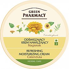 "Крем для лица ""Календула"" - Green Pharmacy Refreshing And Moisturizing Cream — фото N2"