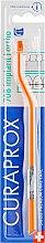 """Духи, Парфюмерия, косметика Монопучковая зубная щетка """"Single CS 708"""", оранжево-белая - Curaprox"""