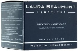 Духи, Парфюмерия, косметика Лечебный ночной крем - Laura Beaumont Treating Night Care
