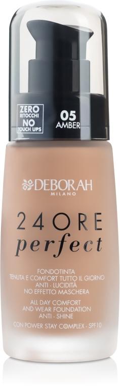 Тональная основа для лица длительного действия - Deborah 24Ore Perfect Foundation