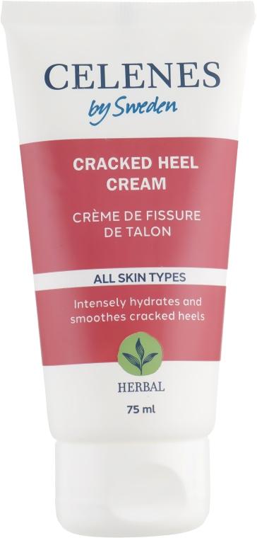 Крем против трещин на пятках - Celenes Herbal Cracked Heel Cream All Skin Types