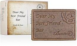 """Духи, Парфюмерия, косметика Очищающее мыло для лица и тела """"Мой дорогой лучший друг"""" - Benton Dear My Best Friend Bar Body & Face"""