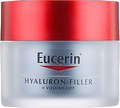 Ночной крем для восстановления контура лица - Eucerin Hyaluron Filler Volume Lift Night Cream — фото N2