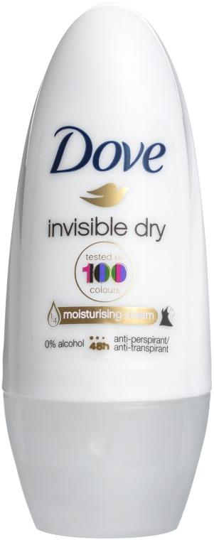 "Антиперспирант шариковый ""Невидимый"" - Dove Invisible dry"