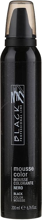 Красящий мусс для волос - Black Professional Line Protective Colouring Mousse
