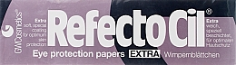 Духи, Парфюмерия, косметика Бумажные лепестки под ресницы (80шт) - RefectoCil Eye Protection Papers Extra