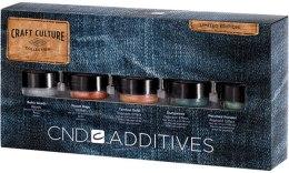 Парфумерія, косметика Набір пігментів - CND Additives Craft Culture