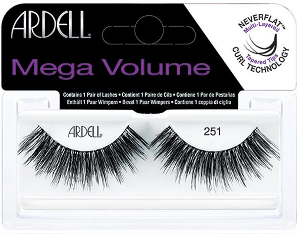 Накладные ресницы - Ardell Eyelashes Mega Volume 251 — фото N1