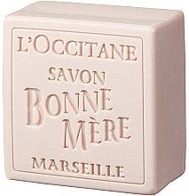 Духи, Парфюмерия, косметика Мыло туалетное - L'Occitane Bonne Mere Rose Soap