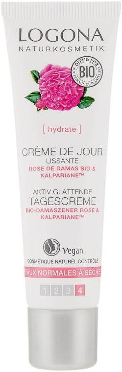 Крем для лица дневной для сухой кожи - Logona Facial Care Day Cream Organic Rose