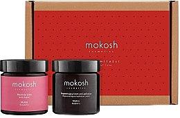 Духи, Парфюмерия, косметика Набор - Mokosh Cosmetics Regenerating Raspberry Limited Gift Set (f/cr/60ml + b/oil/60ml)