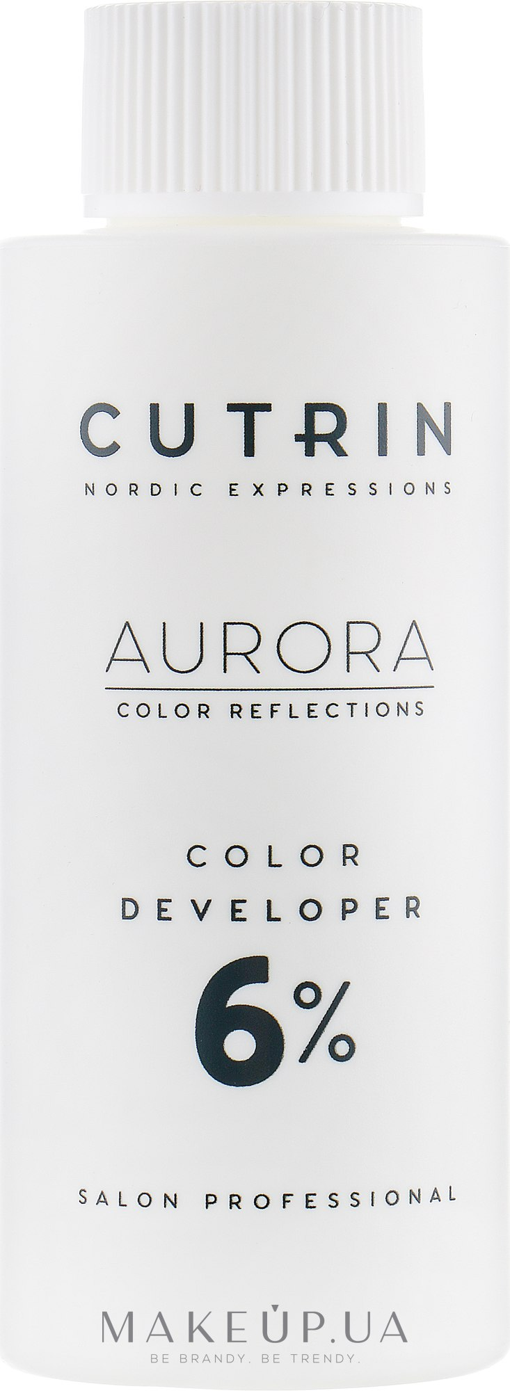 Окислитель 6% - Cutrin Aurora Color Developer — фото 60ml