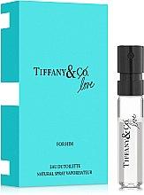 Духи, Парфюмерия, косметика Tiffany & Co Love For Him - Туалетная вода (пробник)