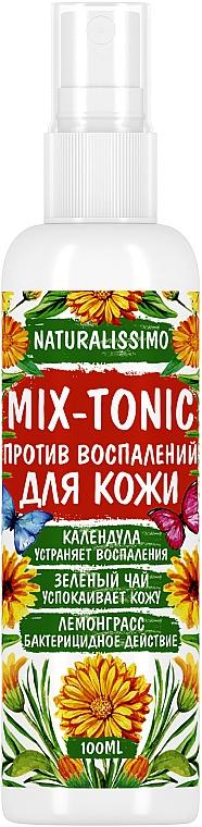 Микс-тоник противовоспалительный для лица и тела - Naturalissimo Mix-Tonic