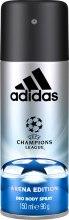 Духи, Парфюмерия, косметика Adidas UEFA Champions League Arena Edition - Дезодорант