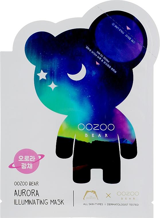 """Двухфазная маска для лица """"Северное сияние"""" - The Oozoo Bear Aurora Illuminating Mask"""