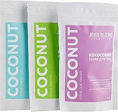 Набор - Joko Blend Coconut Set (scrub/3x50g) — фото N2