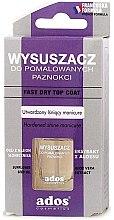 Духи, Парфюмерия, косметика Сушка для окрашенных ногтей - Ados Fast Dry Top Coat