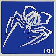 Духи, Парфюмерия, косметика Трафарет для боди-арта, 6х6 см, 191 - Biofarma