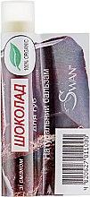 """Духи, Парфюмерия, косметика Натуральный бальзам для губ """"Шоколад"""" - Swan Lip Balm"""