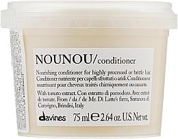 Духи, Парфюмерия, косметика Питательный кондиционер для уплотнения ломких и поврежденных волос - Davines Nourishing Nounou Conditioner