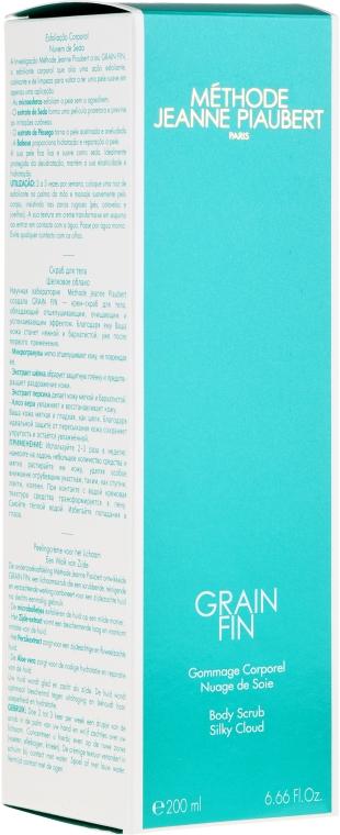 Гоммаж для тела - Methode Jeanne Piaubert Grain Fin Body Scrub Silky Cloud