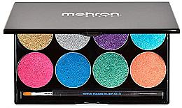 Духи, Парфюмерия, косметика УЦЕНКА Палитра сияющего аквагрима - Mehron Paradise Makeup AQ 8 Color Palette *