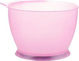 Духи, Парфюмерия, косметика Миска для окрашивания волос с резиновой основой, розовая - Baihe Hair