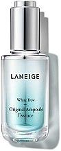 Духи, Парфюмерия, косметика Отбеливающая ампульная эссенция - Laneige White Dew Original Ampoule Essence