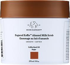 Духи, Парфюмерия, косметика Скраб для тела - Drunk Elephant Sugared Koffie Almond Milk Body Scrub