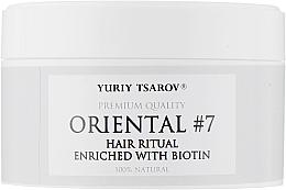 Духи, Парфюмерия, косметика Скраб для кожи головы против выпадения волос обогащенный биотином - Yuriy Tsarov Oriental #7 Hair Ritual