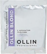 Духи, Парфюмерия, косметика Осветляющий порошок с ароматом лаванды - Ollin Professional Perfomance Blond Powder Lavanda Aroma