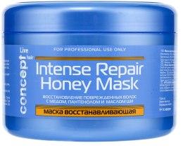 Духи, Парфюмерия, косметика Маска восстанавливающая с медом - Concept Live Hair Intense Repair Honey Masque