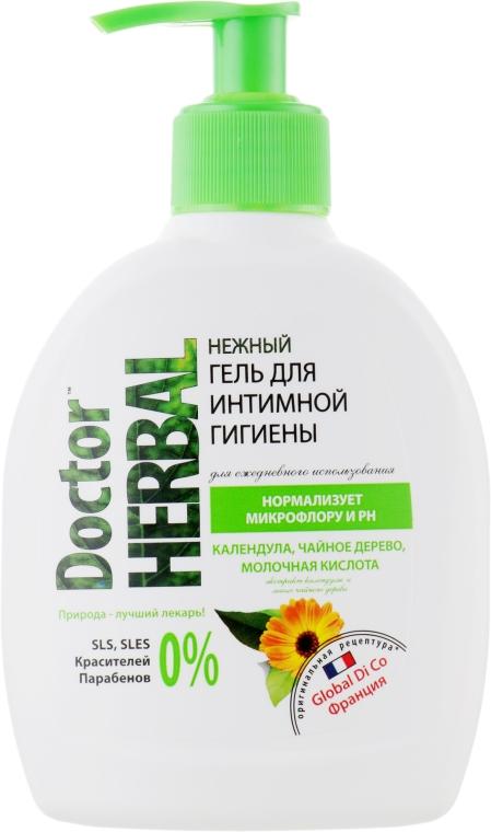 """Гель для интимной гигиены """"Календула"""" - Doctor Herbal"""