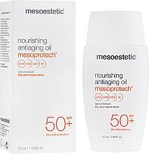 Духи, Парфюмерия, косметика Омолаживающая питательная масло - Mesoestetic Mesoprotech Nourishing Anti-Aging Oil SPF 50+