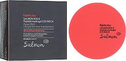 Духи, Парфюмерия, косметика Гидрогелевые патчи для глаз с икрой лосося и пептидами - FarmStay Salmon Roe & Peptide Hydrogel Eye Patch