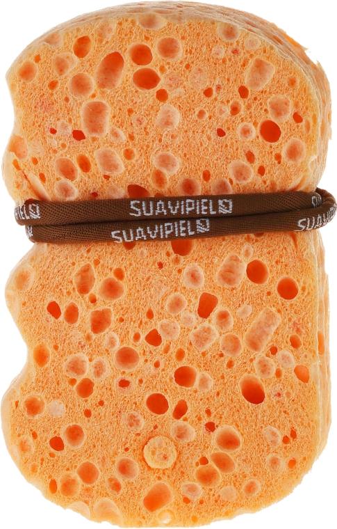 Мочалка на основе хлопка и льна - Suavipiel Natural Vegetal Sponge
