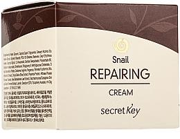 Духи, Парфюмерия, косметика Восстанавливающий крем для лица с муцином улитки - Secret Key Snail + EGF Repairing Cream