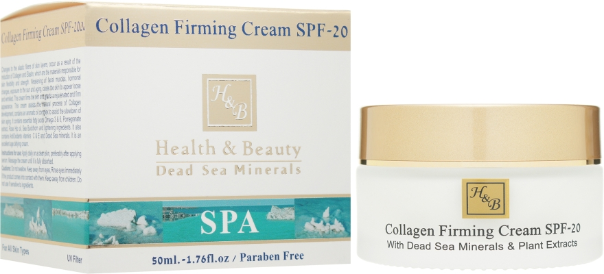 Коллагеновый укрепляющий крем - Health And Beauty Collagen Firming Cream SPF 20