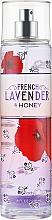 Духи, Парфюмерия, косметика Парфюмированный спрей для тела - Bath and Body Works French Lavender and Honey