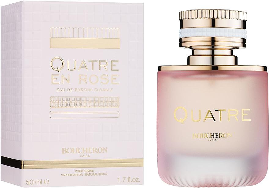 Boucheron Quatre En Rose - Парфюмированная вода